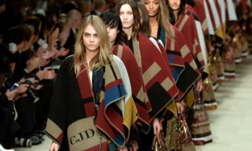 Burberry Prorsum Catwalk - London Fashion Week 2014